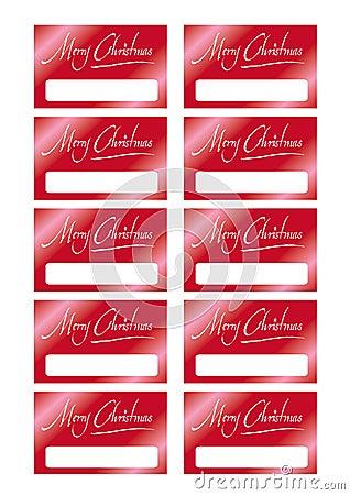 Free Christmas Tree Card Royalty Free Stock Image - 1105286