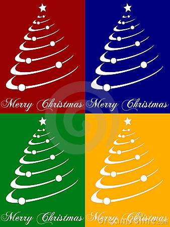 Free Christmas Tree Cards Stock Photo - 6963020