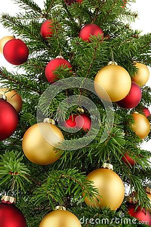 Free Christmas Tree Closeup Stock Photos - 34258743
