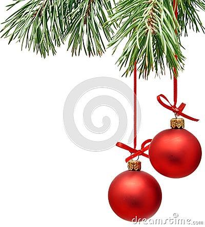 Free Christmas Tree Decoration Royalty Free Stock Image - 16061586