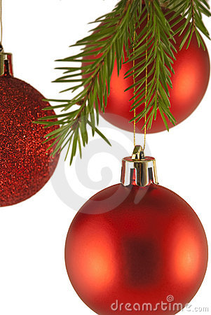 Christmas tree decoration Baubles