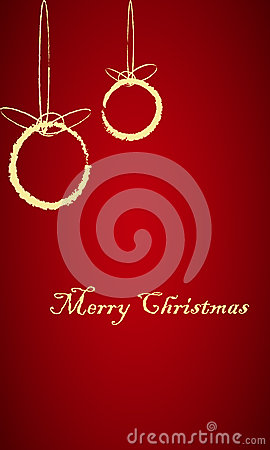 Christmas Tree Decoration Card 2