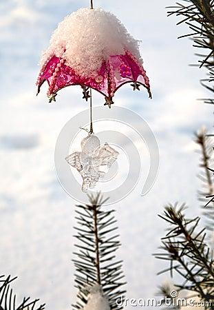 Christmas-tree decoration outdoor