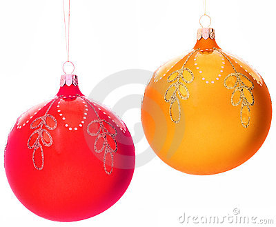 Christmas-tree decorations balls