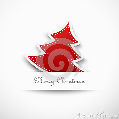 Free Christmas Tree, Design Royalty Free Stock Photo - 35525945