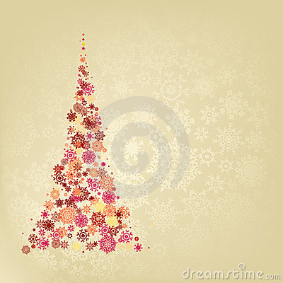 Christmas tree. EPS 8
