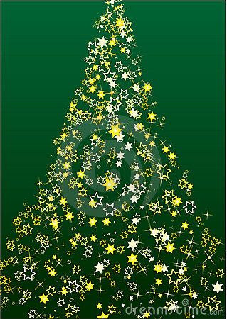 Christmas tree flower