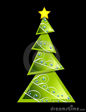 Christmas Tree - geometric