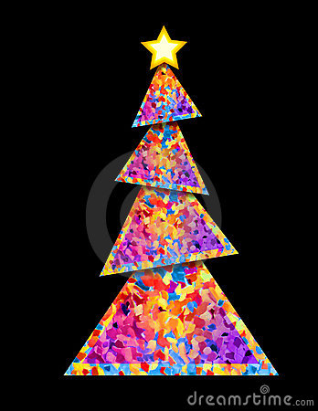 Christmas Tree - geometric