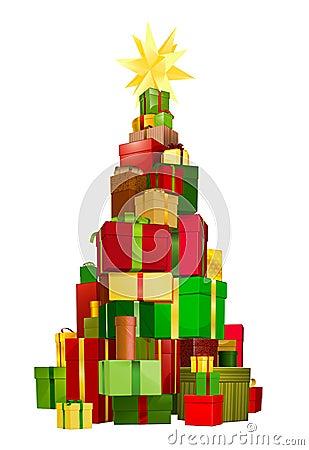 Christmas tree gifts