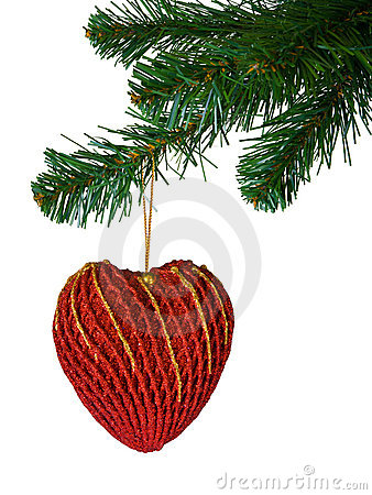 Christmas tree and heart