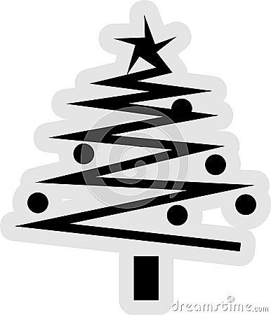 Free Christmas Tree Icon Royalty Free Stock Image - 32636