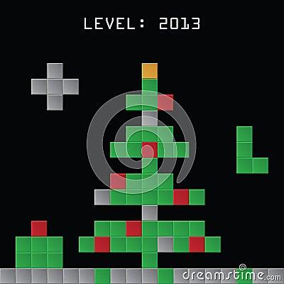 christmas tetris