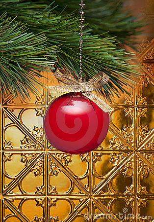 Free Christmas Tree Ornament  Stock Photo - 20283120