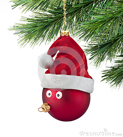 Free Christmas Tree Ornament Fun Stock Photo - 26335640