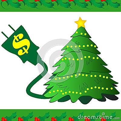 Christmas Tree Power Icon
