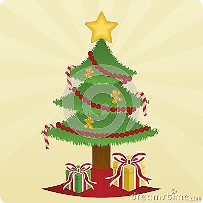 Christmas Tree & Presents