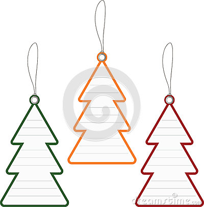 Christmas Tree Price Tag Royalty Free Stock Photo - Image: 26607445