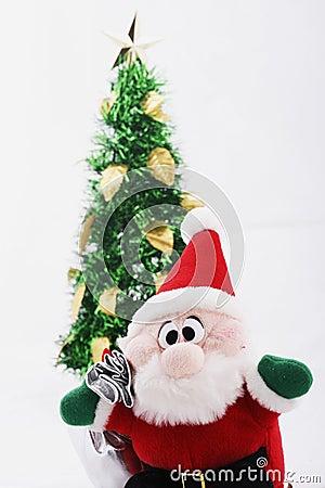 Christmas Tree & Santa Claus Doll