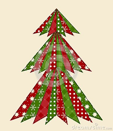 Christmas tree for scrapbooking 1