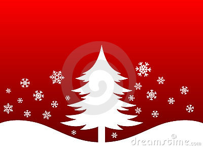 Christmas Tree and Snow flakes