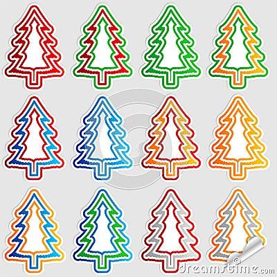 Christmas tree stick