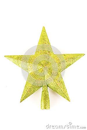 Free Christmas Tree Top Star Royalty Free Stock Photos - 11309188