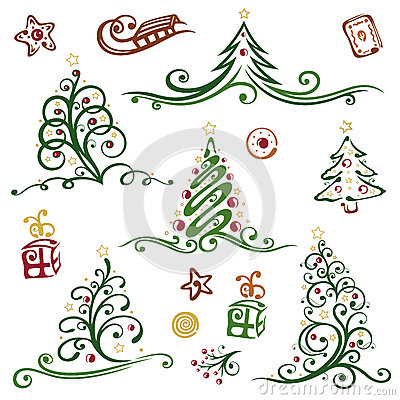 Free Christmas, Trees Stock Images - 33939404