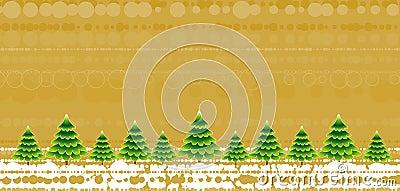 Christmas trees,vector