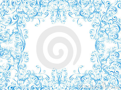 Christmas vector background whit floral ornament