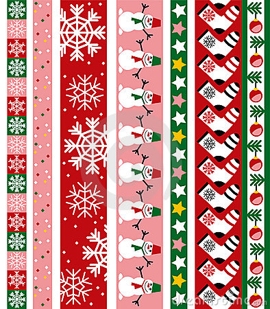 Free Christmas Vector Border Royalty Free Stock Images - 6584109