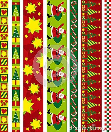 Free Christmas Vector Border Stock Photos - 6601733