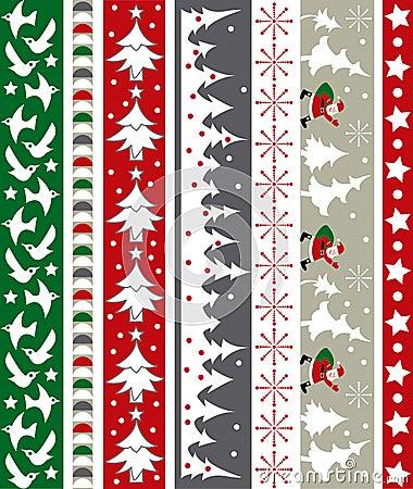 Free Christmas Vector Border Stock Image - 6986561