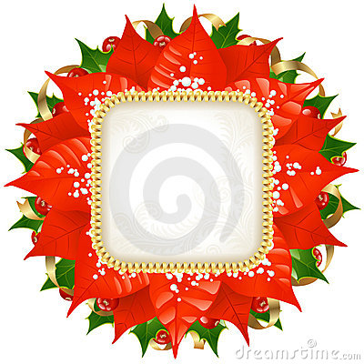 Christmas vector frame 12
