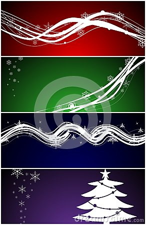 Christmas web banners / backgrounds
