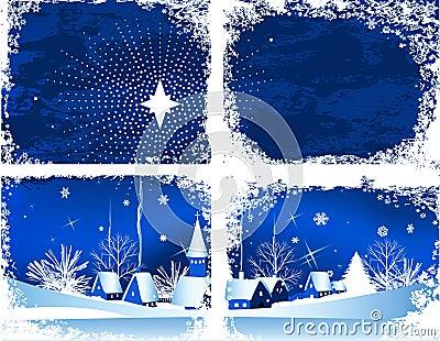 Christmas window.