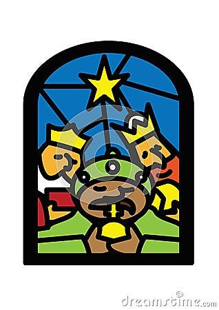 Christmas window kings