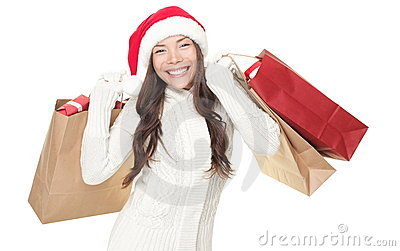 Christmas winter shopping