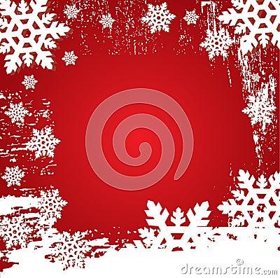Christmas Winter Vector Backgr