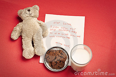 Christmas wish letter from lonely child