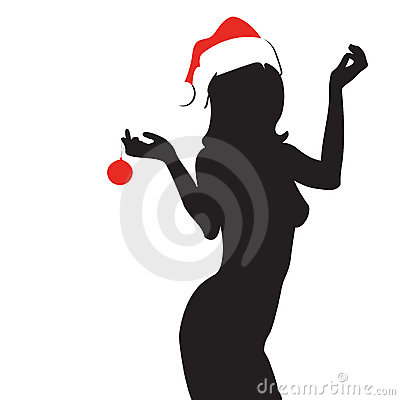 Free Christmas Woman Royalty Free Stock Images - 3427259