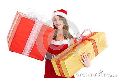 Christmas woman gift