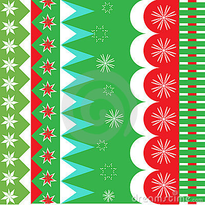 Christmas wrapping pattern