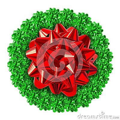Free Christmas Wreath Stock Photo - 1233710