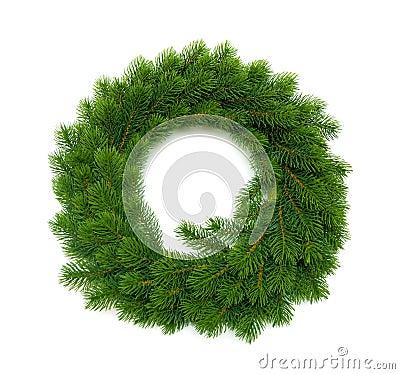 Free Christmas Wreath Stock Photography - 16518972