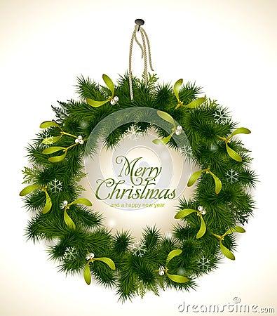 Free Christmas Wreath Stock Photos - 17422573
