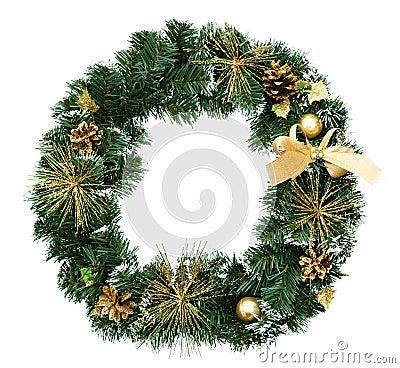 Free Christmas Wreath Stock Photography - 18965572