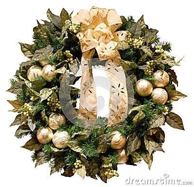 Free Christmas Wreath Stock Photography - 2646212