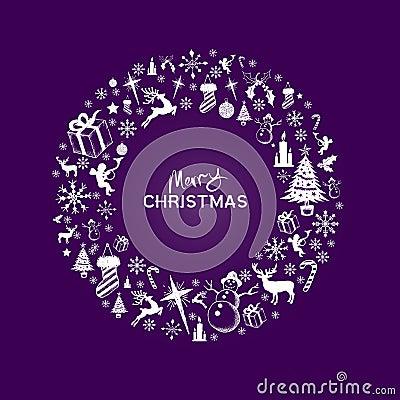 Free Christmas Wreath Stock Photos - 27761283