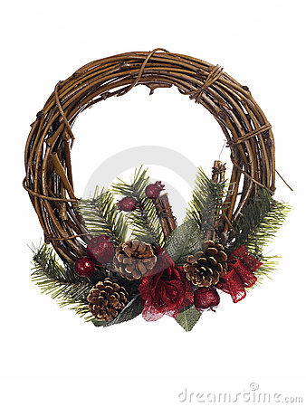 Free Christmas Wreath Stock Photography - 3800042
